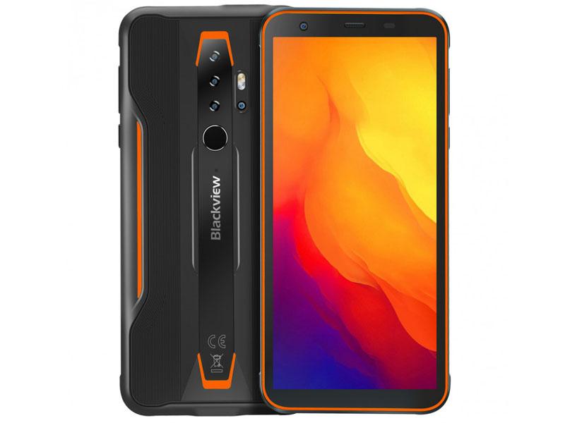 Сотовый телефон Blackview BV6300 Black-Orange