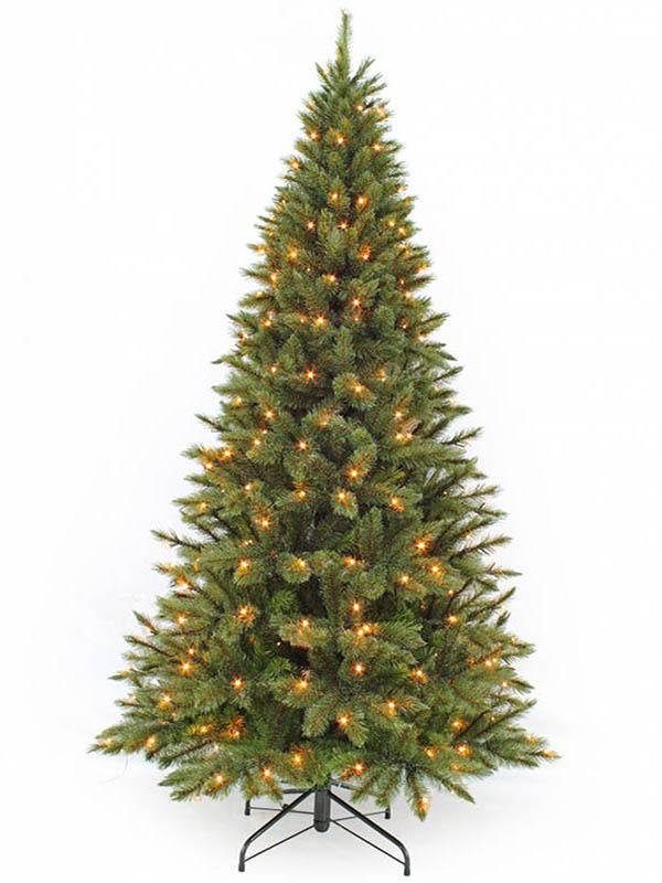 Ель Triumph Tree Лесная Красавица стройная 185cm 168 LED Green 73898