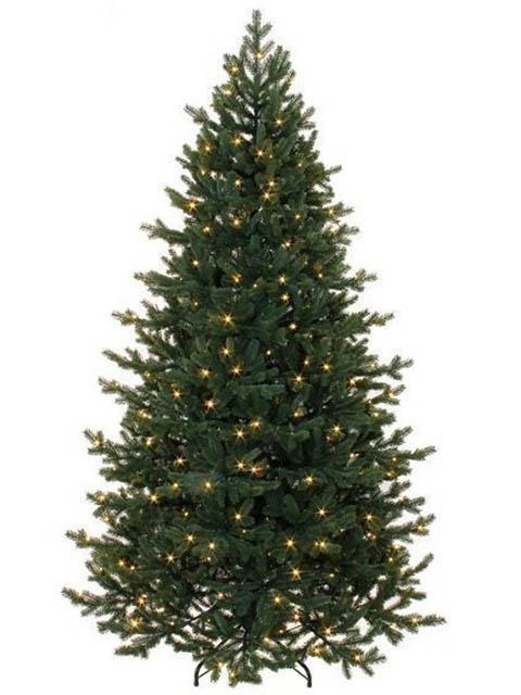 Ель Triumph Tree Шервуд Премиум стройная 155cm 120 LED Green 73146