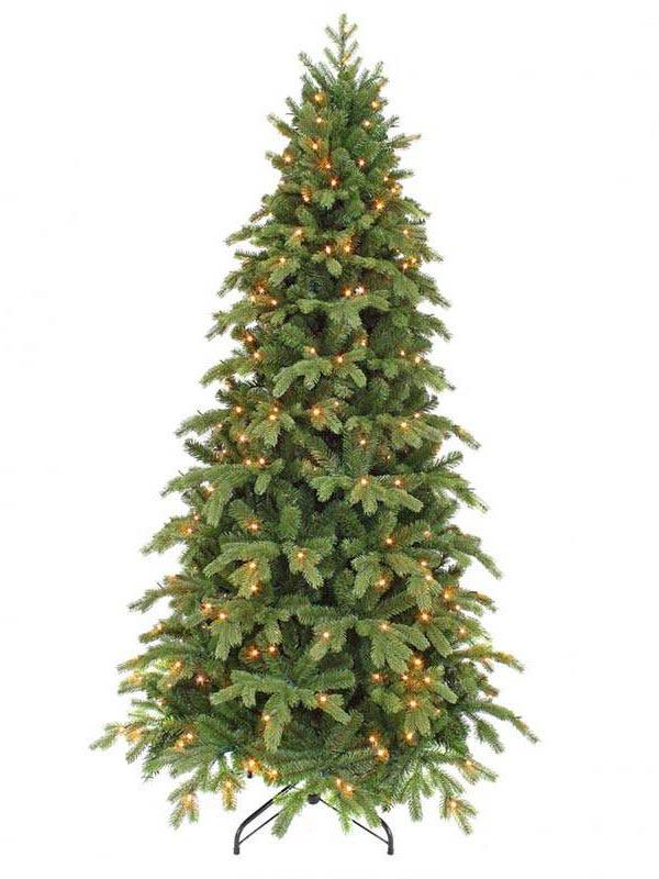 Ель Triumph Tree Шервуд премиум 155cm 120 LED Green 73713