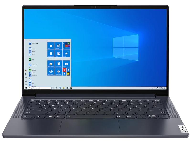 Ноутбук Lenovo Yoga Slim 7-14IIL05 82A100H6RU (Intel Core i5-1035G4 1.1 GHz/16384Mb/512Gb SSD/Intel Iris Plus Graphics/Wi-Fi/Bluetooth/Cam/14.0/1920x1080/Windows 10 Home 64-bit)
