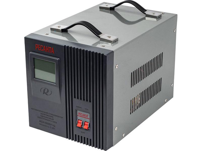 Стабилизатор РЕСАНТА ACH-5000/1-Ц (5 кВт)