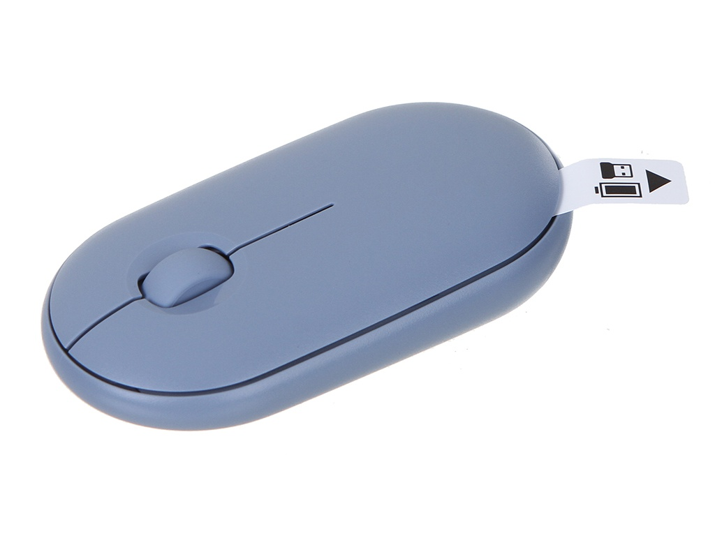 Мышь Logitech M350 Pebble Blue Grey 910-005719