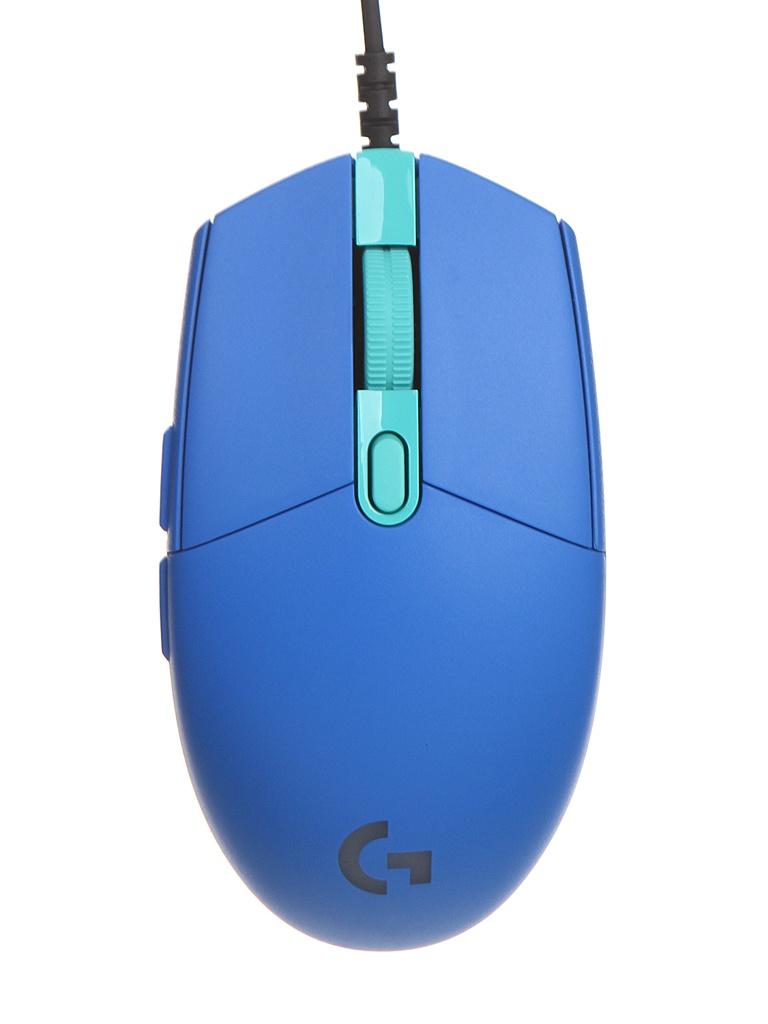 Мышь Logitech G102 Lightsync Blue Eer 910-005801