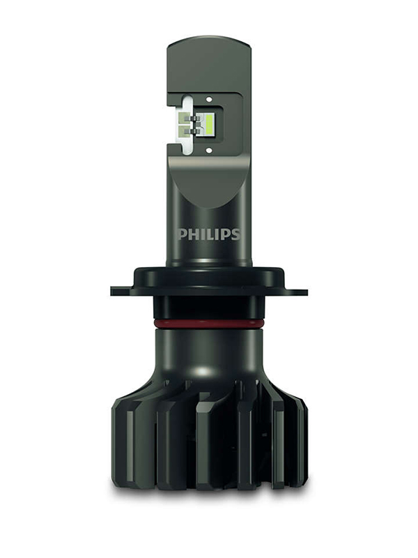 Лампа Philips Ultinon Pro9000 LED-HL H7 12V 18W 5800K (2 штуки) 11972U90CWX2