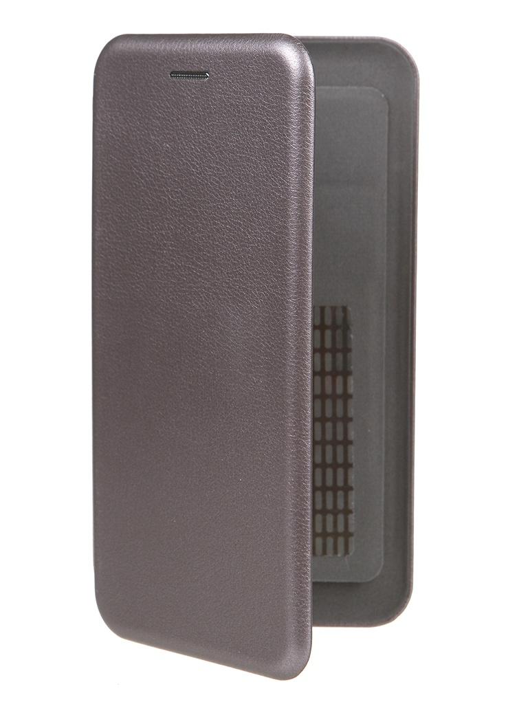 Чехол Pero Универсальный 5.5-6.0 Eco Leather Grey PBLU-0002-GY