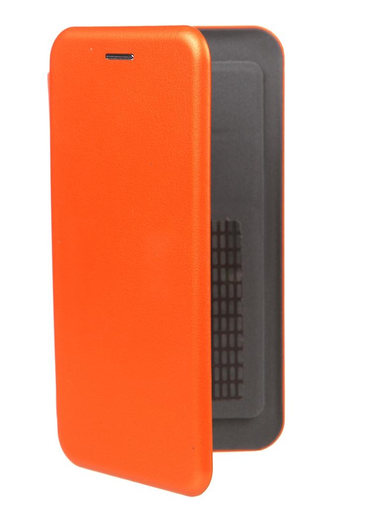 Чехол Pero Универсальный 5.5-6.0 Eco Leather Orange PBLU-0002-OR
