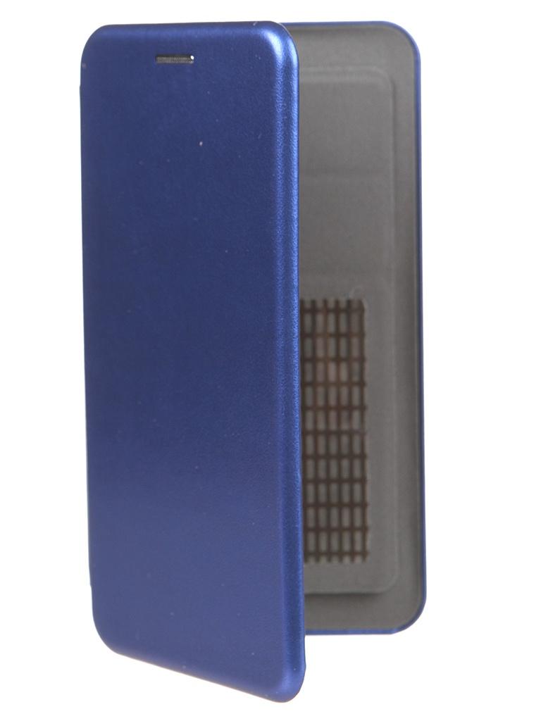 Чехол Pero Универсальный 5.2-5.5 Eco Leather Blue PBLU-0001-BL