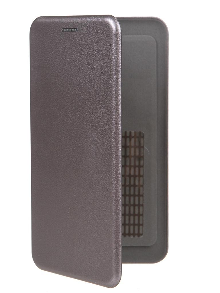 Чехол Pero Универсальный 5.2-5.5 Eco Leather Grey PBLU-0001-GY