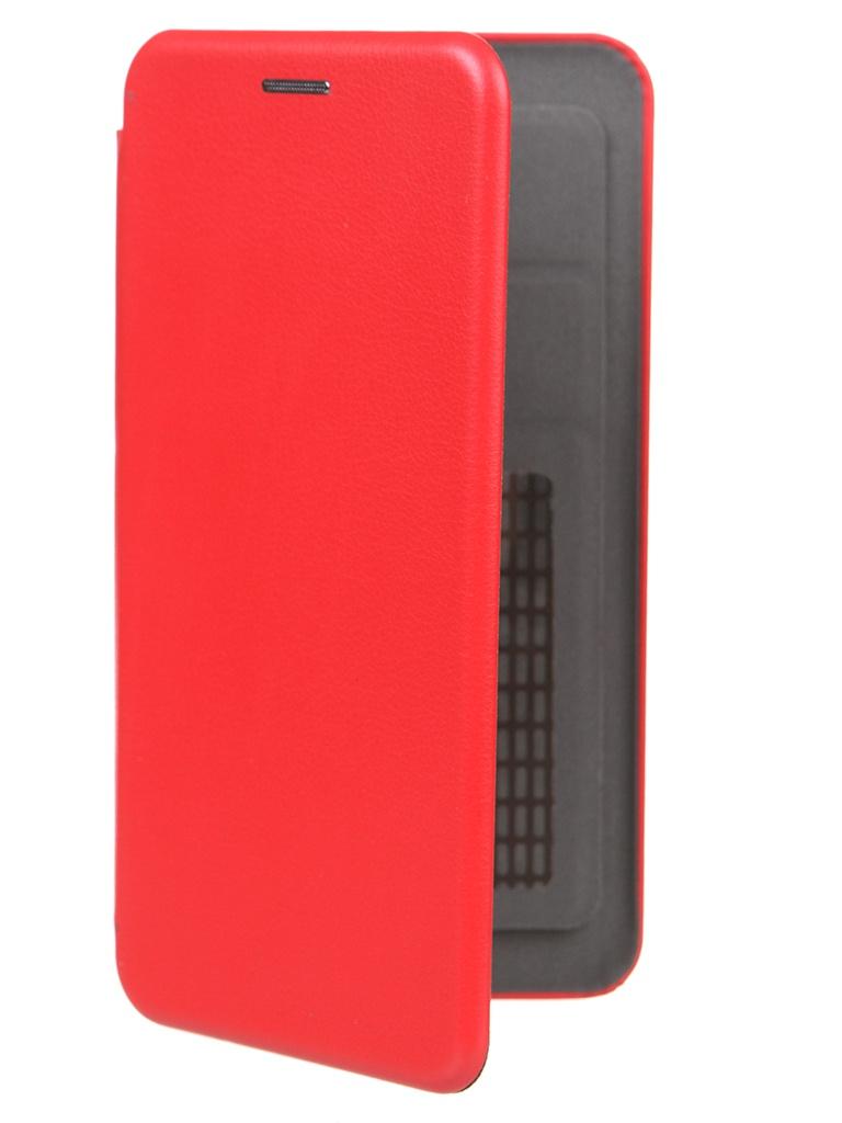 Чехол Pero Универсальный 5.2-5.5 Eco Leather Red PBLU-0001-RD