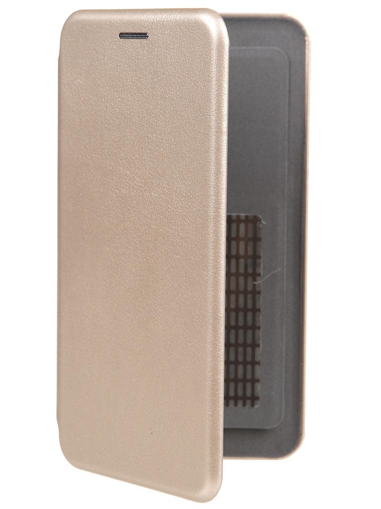 Чехол Pero Универсальный 5.2-5.5 Eco Leather Gold PBLU-0001-GD