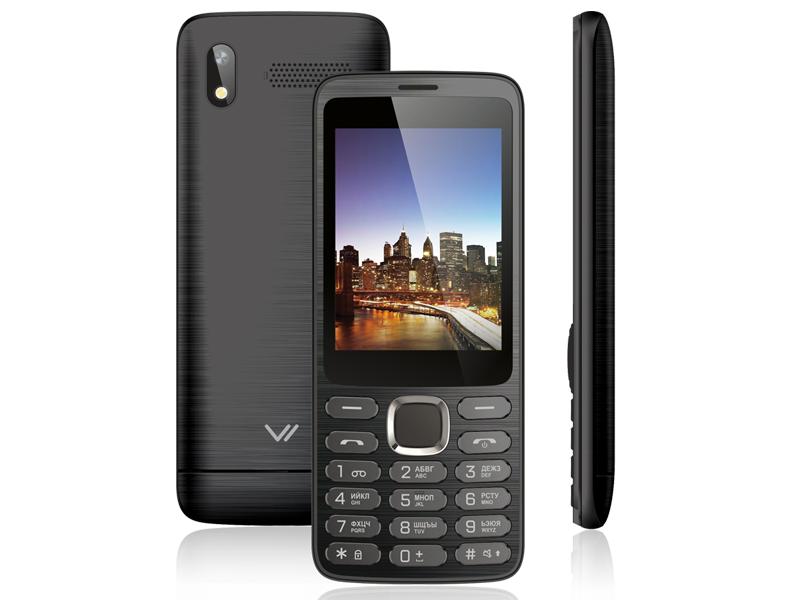 Сотовый телефон Vertex D570 Black