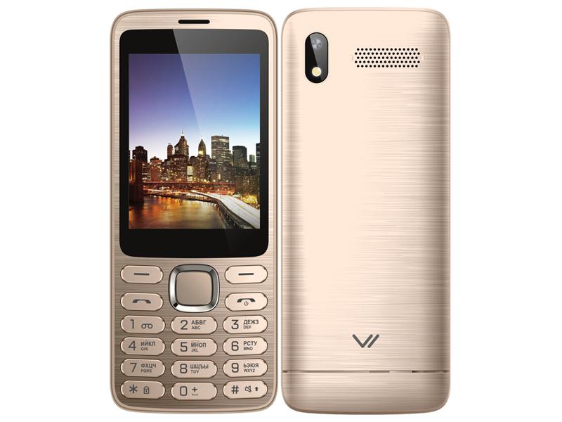 Сотовый телефон Vertex D570 Gold