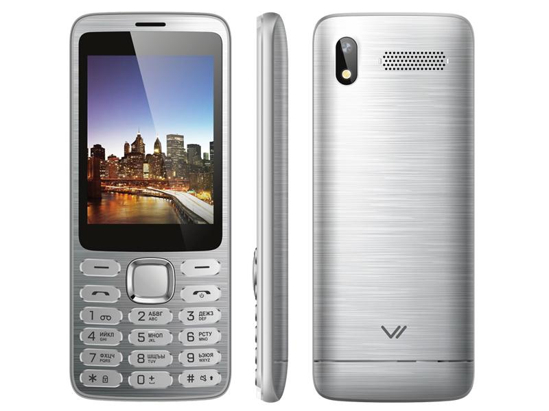 Сотовый телефон Vertex D570 Silver