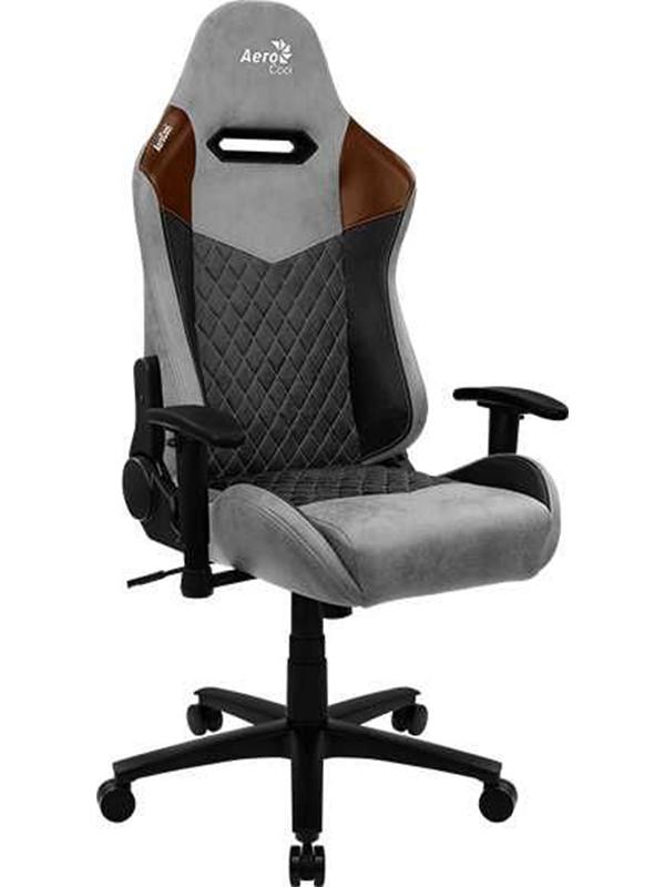 Фото - Компьютерное кресло AeroCool Duke Tan Grey Выгодный набор + серт. 200Р!!! компьютерное кресло chairman game 17 black grey 00 07024558 выгодный набор серт 200р
