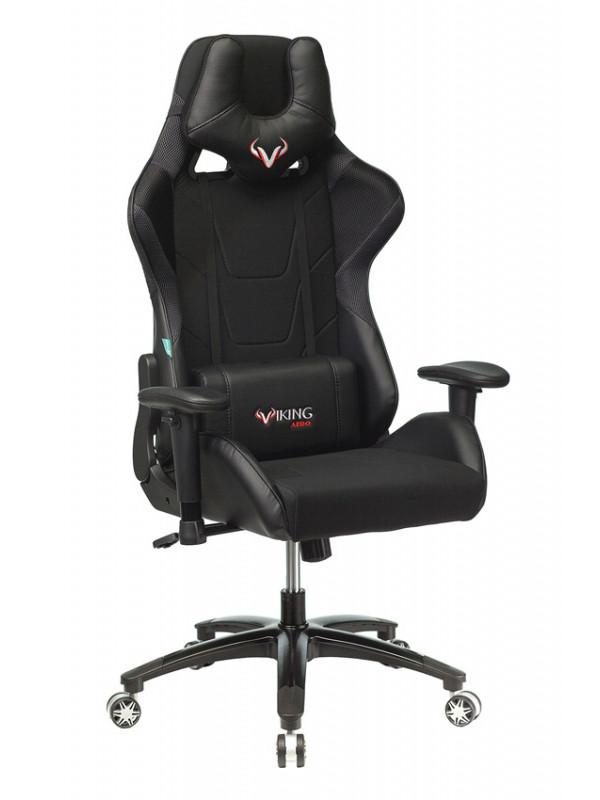 Фото - Компьютерное кресло Бюрократ Viking 4 Aero Black 1197917 Выгодный набор + серт. 200Р!!! компьютерное кресло chairman game 17 black grey 00 07024558 выгодный набор серт 200р