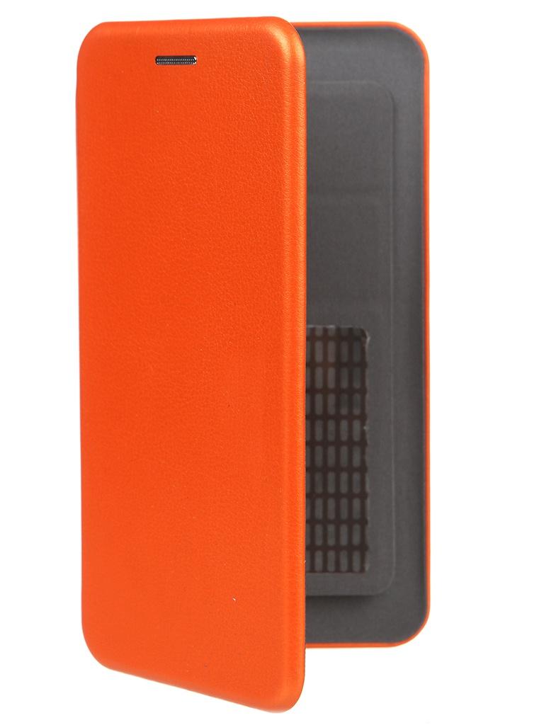 Чехол Pero Универсальный 5.0-5.2 Eco Leather Orange PBLU-0004-OR