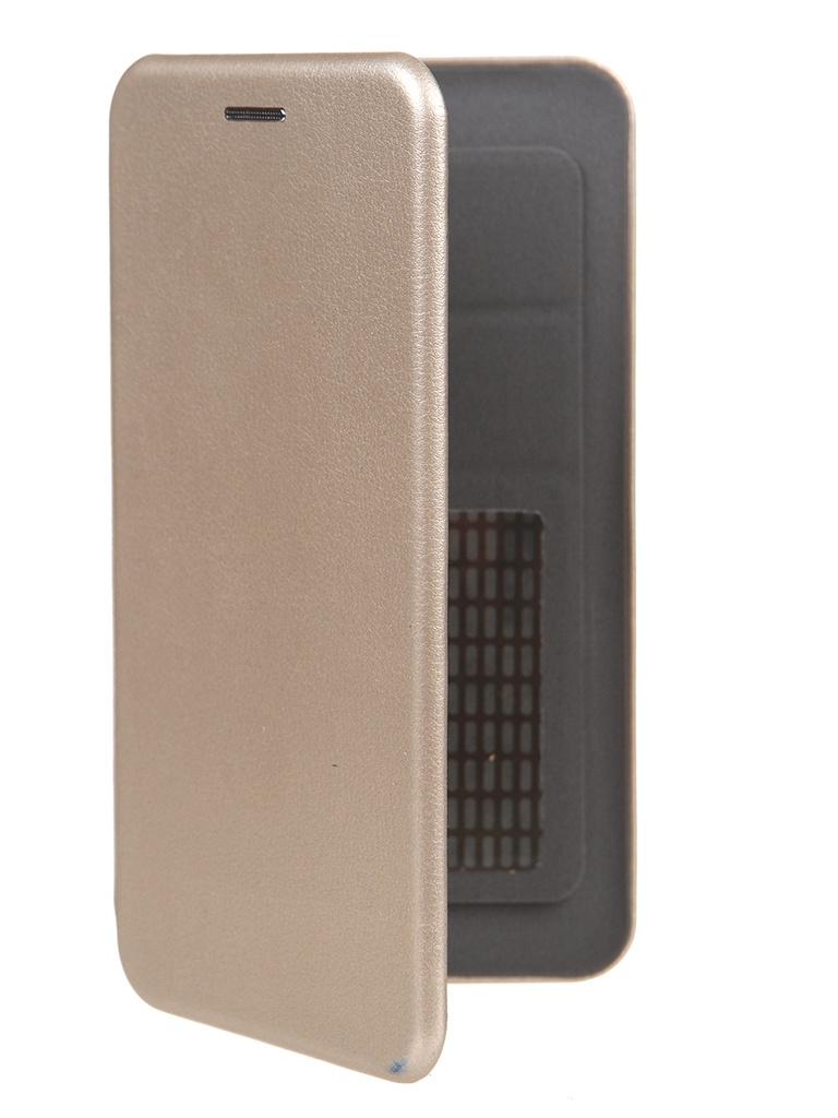 Чехол Pero Универсальный 5.0-5.2 Eco Leather Gold PBLU-0004-GD