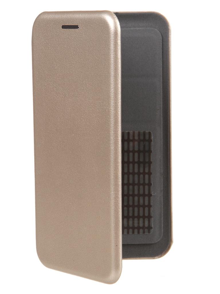 Чехол Pero Универсальный 4.7-5.0 Eco Leather Gold PBLU-0003-GD