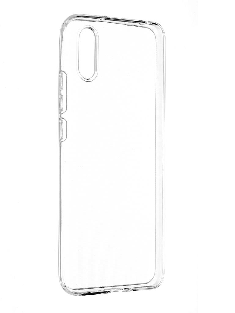 Чехол Activ для Xiaomi Redmi 9A/Redmi 9i ASC-101 Puffy 0.9mm Transparent 125089