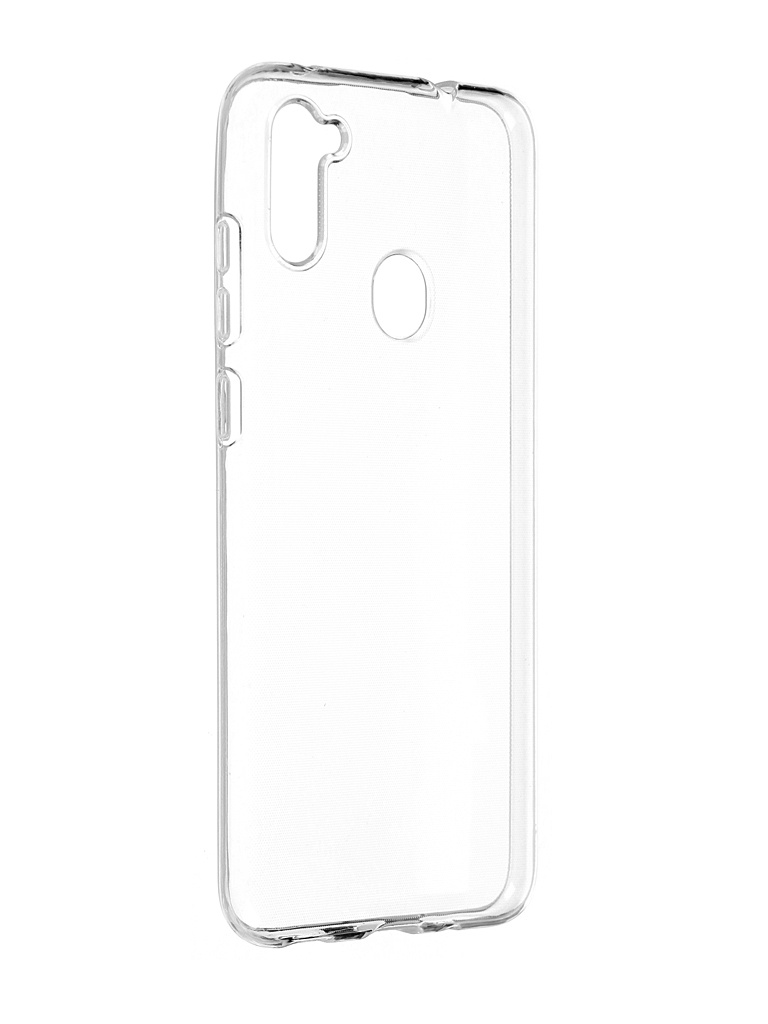 Чехол Activ для Samsung SM-A115 GalaxyA11/SM-M115 Galaxy M11 ASC-101 Puffy 0.9mm Transparent 116369