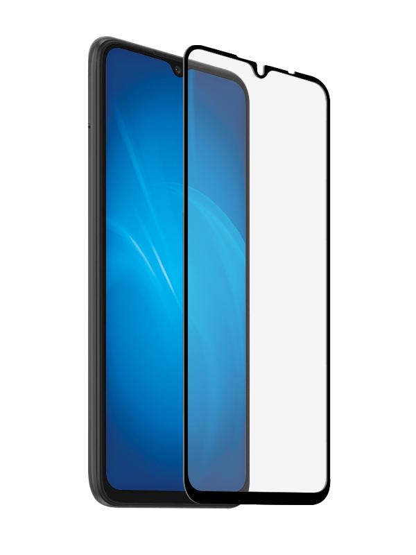 Защитное стекло Media Gadget для Xiaomi Redmi 9A 2.5D Full Cover Glass Glue Black Frame MGFCXR9AGBK