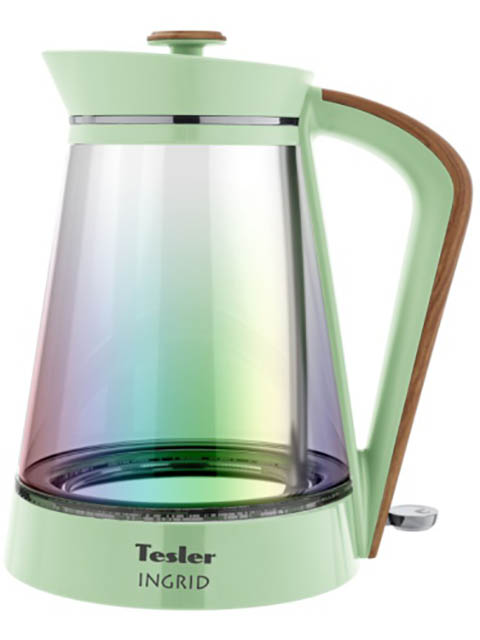Фото - Чайник Tesler KT-1750 1.7L Green чайник tesler kt 1755 red