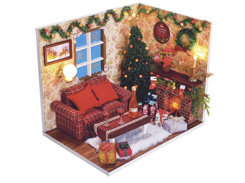 Сборная модель DIY House Новогодняя сказка PC2008