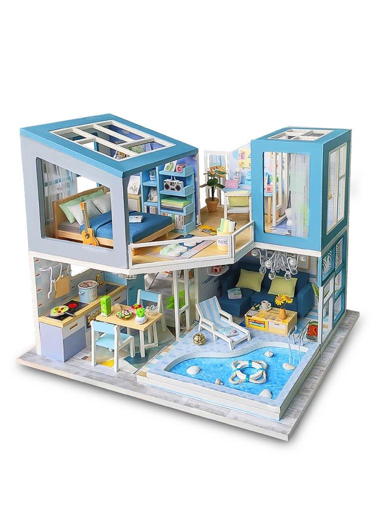 Сборная модель DIY House Голубая мечта M910
