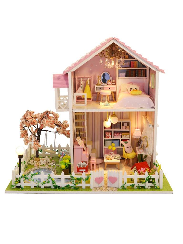 Сборная модель DIY House В тени сакуры M911