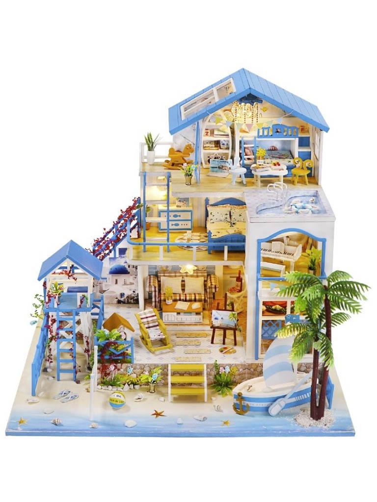 Сборная модель DIY House Жемчужина Средиземного моря L906