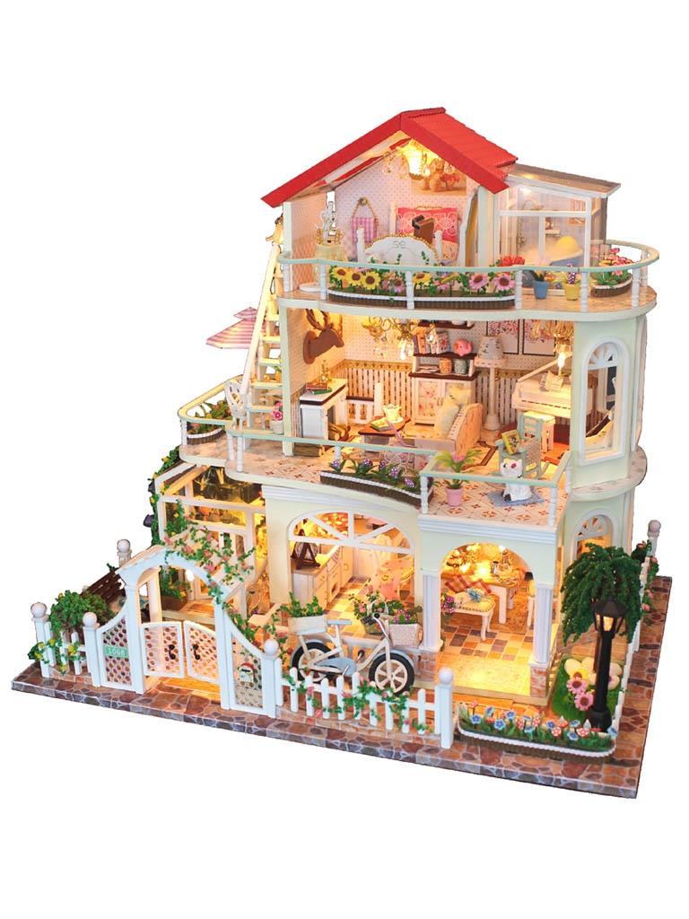 Сборная модель DIY House Вилла в цветах 13845