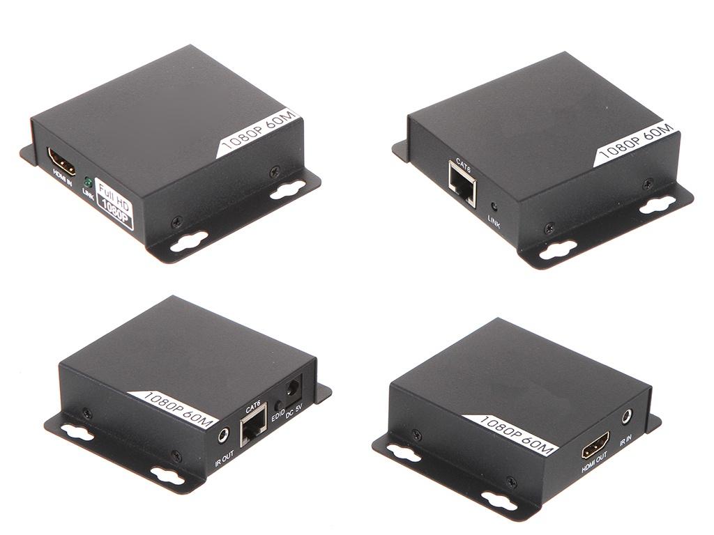 Аксессуар Palmexx HDMI 1080P удлинитель с поддержкой IR/POE/EDID до 60m PX/AYE-08POE