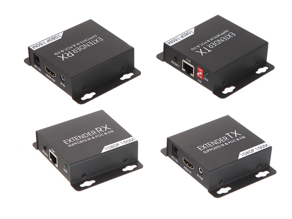 Аксессуар Palmexx HDMI 1080P удлинитель с поддержкой IR/POE/EDID до 150m PX/AYE-07POE