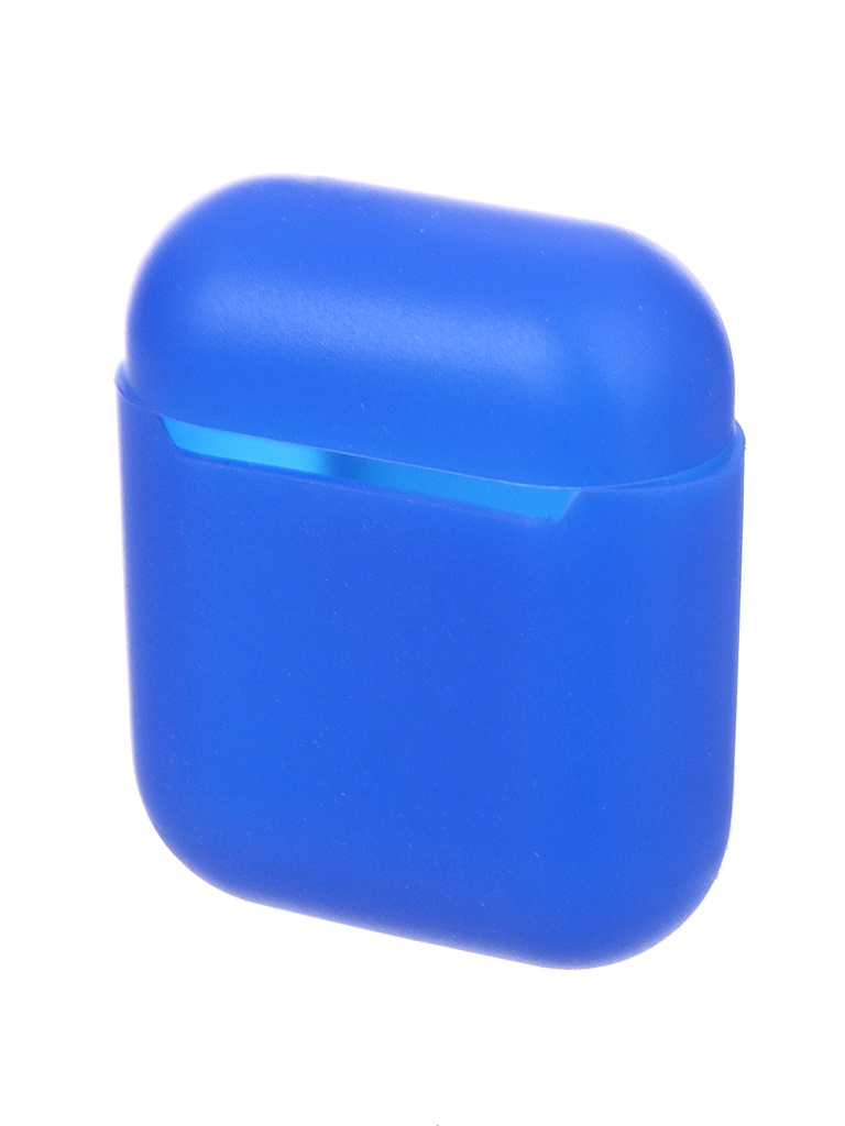 Чехол Red Line для APPLE AirPods 1.3mm Silicone Blue УТ000023880