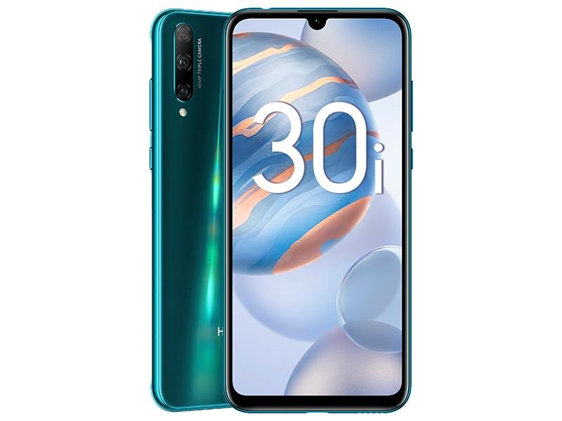 Сотовый телефон Honor 30i 4/128Gb Phantom Blue Выгодный набор + серт. 200Р!!!