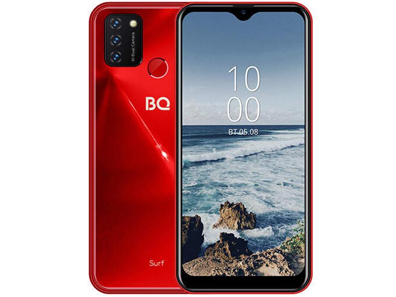 Сотовый телефон BQ 6631G Surf Red