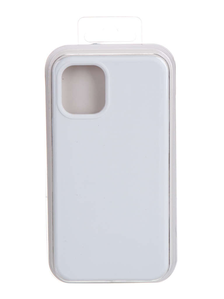 Чехол Krutoff для APPLE iPhone 12 Mini Silicone Case White 11028