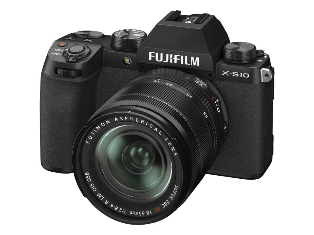 Фотоаппарат Fujifilm X-S10 Kit 18-55mm Black