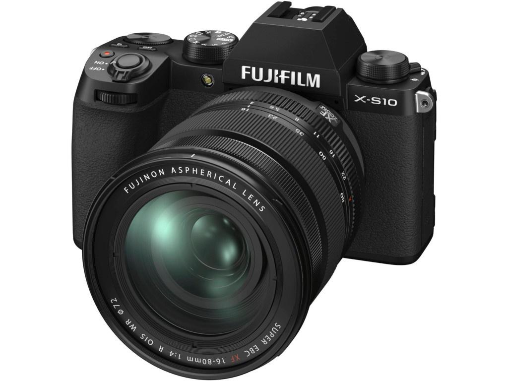 Фото - Фотоаппарат Fujifilm X-S10 Kit 16-80mm Black цифровой фотоаппарат fujifilm x pro3 body dr silver