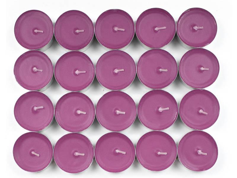 Набор ароматических свечей Омский свечной Роза 3.8x1.6cm 20шт 001726