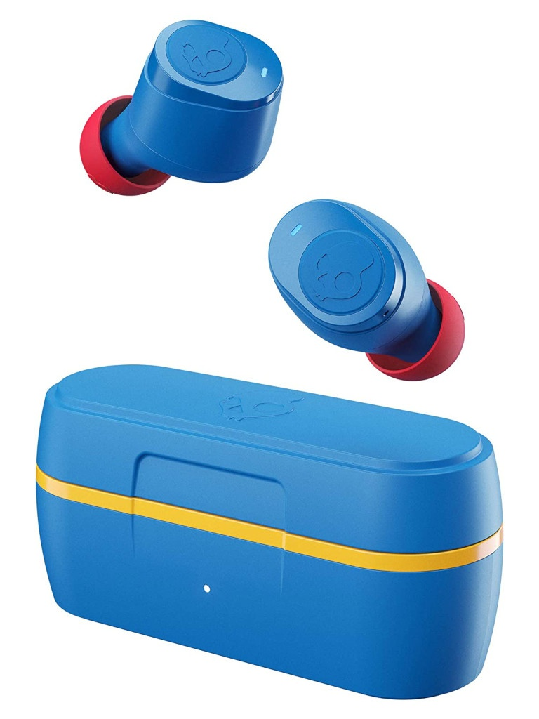 Фото - Наушники Skullcandy Jib True Wireless Blue S2JTW-N745 наушники с микрофоном skullcandy jib earbuds with microphone eac зеленый s2duyk