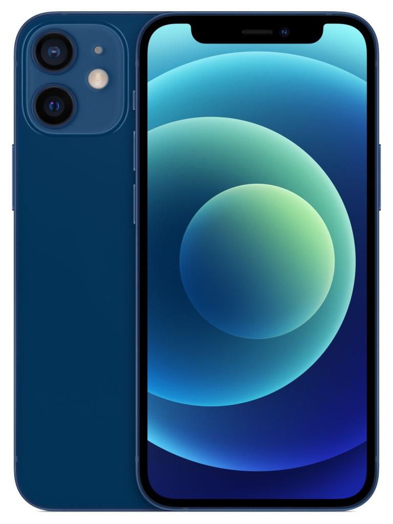 Сотовый телефон APPLE iPhone 12 Mini 64Gb Blue MGE13RU/A Выгодный набор + серт. 200Р!!!