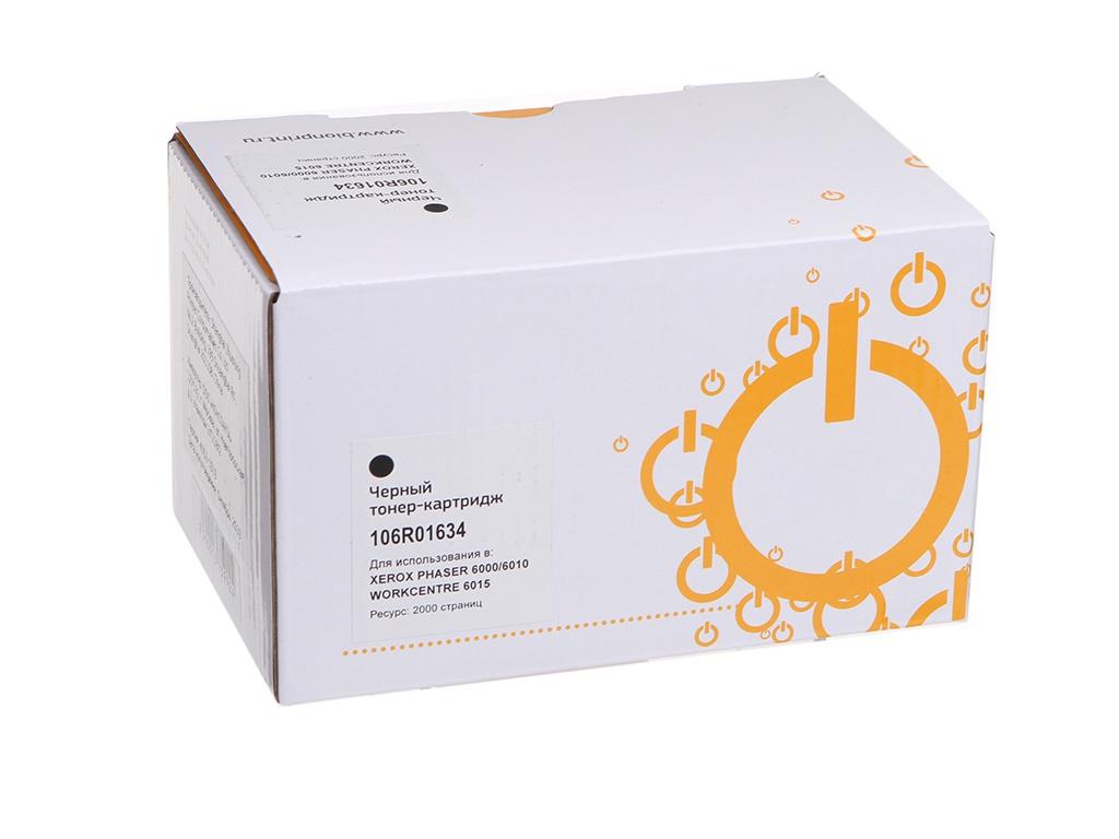 Картридж Bion 106R01634 Black для Xerox Phaser 6000/6010 WorkCentre 6015