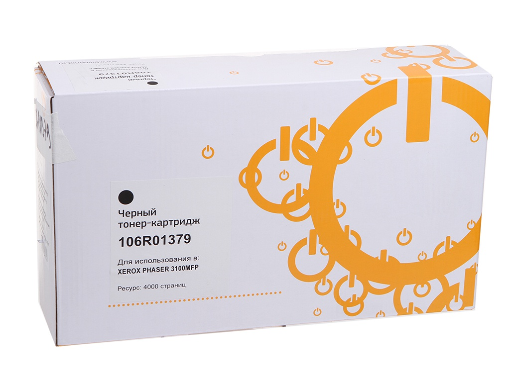 Картридж Bion 106R01379 для Xerox Phaser 3100 Black с чипом