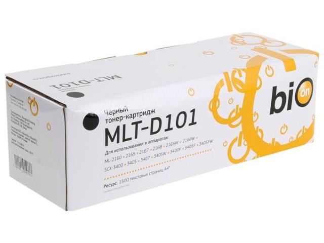 Картридж Bion MLT-D101 для Samsung ML-2160/2165/2167/2168/2165W/2168W/SCX-3400/3400F/3405/3405F/3405W/3405FW/3407 Black