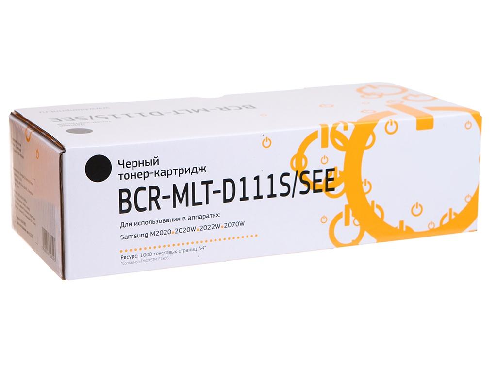 Картридж Bion MLT-D111S/SEE для Samsung M2020(w)/M2022(w)/M2070(f/fw/w) Black