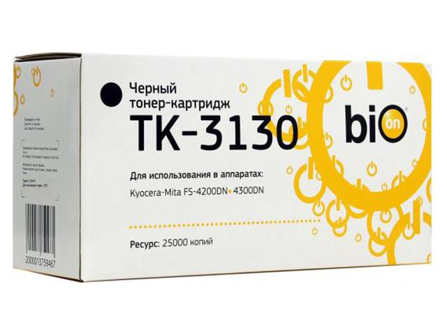 Картридж Bion TK-3130 Black для Kyocera-Mita FS-4200DN/4300DN/M3540dn