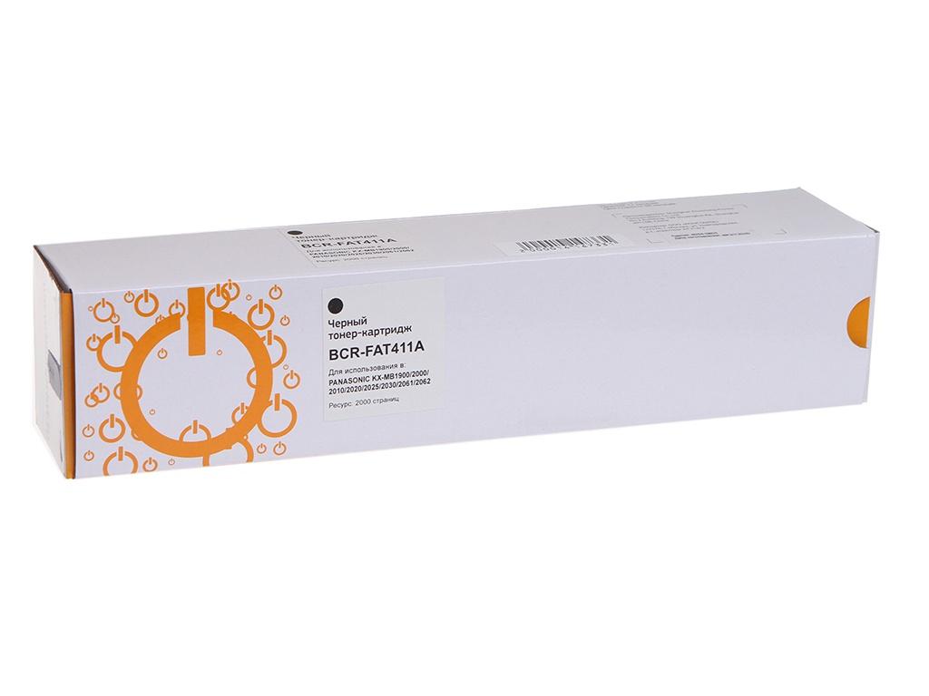 Картридж Bion FAT411A для Panasonic KXMB1900/MB2000/MB2010/MB2020/MB2025/MB2030/MB2051/MB2061 Black