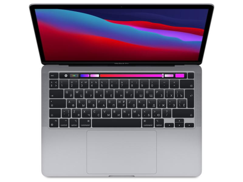 Ноутбук APPLE MacBook Pro 13 (2020) Space Grey MYD92RU/A Выгодный набор + серт. 200Р!!! (Apple M1/8192Mb/512Gb SSD/Wi-Fi/Bluetooth/Cam/13.3/2560x1600/Mac OS)